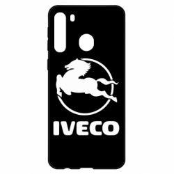 Чехол для Samsung A21 IVECO
