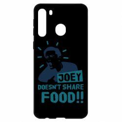 Чехол для Samsung A21 Joey doesn't share food!
