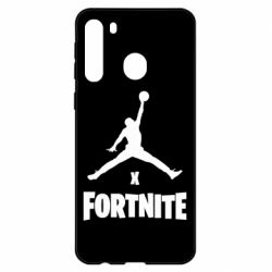 Чехол для Samsung A21 JORDAN FORTNITE