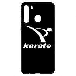 Чехол для Samsung A21 Karate