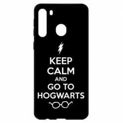Чехол для Samsung A21 KEEP CALM and GO TO HOGWARTS