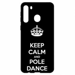 Чехол для Samsung A21 KEEP CALM and pole dance