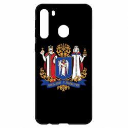 Чехол для Samsung A21 Киев большой герб 1995