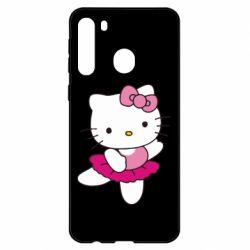 Чехол для Samsung A21 Kitty балярина