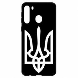 Чехол для Samsung A21 Класичний герб України