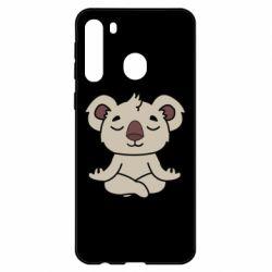 Чехол для Samsung A21 Koala