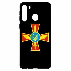 Чехол для Samsung A21 Крест з мечем та гербом