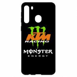Чехол для Samsung A21 KTM Monster Enegry