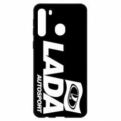 Чехол для Samsung A21 Lada Autosport
