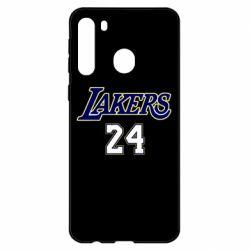 Чехол для Samsung A21 Lakers 24