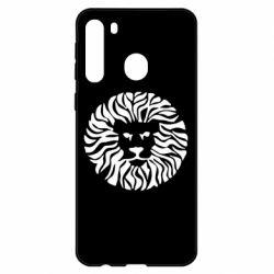 Чехол для Samsung A21 лев