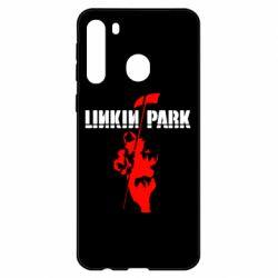 Чехол для Samsung A21 Linkin Park Album