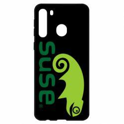 Чехол для Samsung A21 Linux Suse