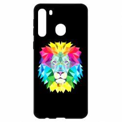 Чехол для Samsung A21 Lion vector