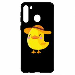 Чехол для Samsung A21 Little chicken