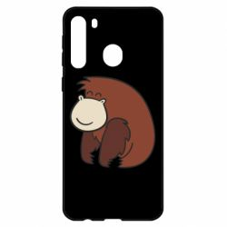 Чехол для Samsung A21 Little monkey