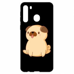 Чехол для Samsung A21 Little pug