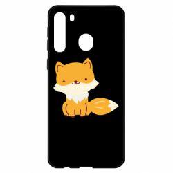 Чехол для Samsung A21 Little red fox