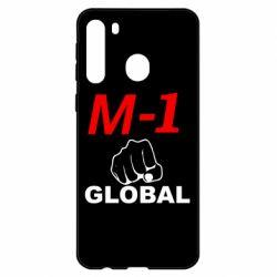 Чехол для Samsung A21 M-1 Global