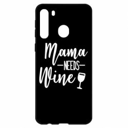 Чехол для Samsung A21 Mama need wine