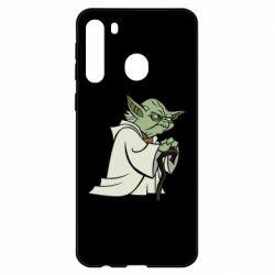 Чехол для Samsung A21 Master Yoda
