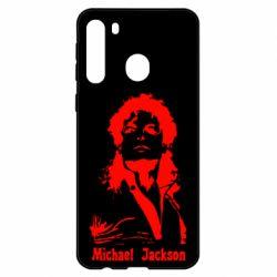 Чехол для Samsung A21 Майкл Джексон