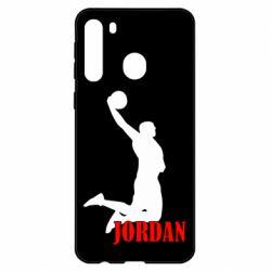 Чехол для Samsung A21 Майкл Джордан