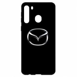 Чехол для Samsung A21 Mazda 3D Logo