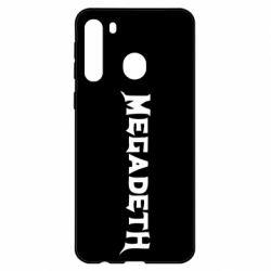 Чехол для Samsung A21 Megadeth