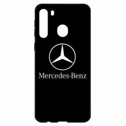 Чехол для Samsung A21 Mercedes Benz