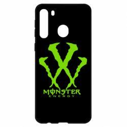 Чехол для Samsung A21 Monster Energy W