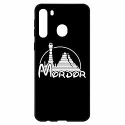 Чехол для Samsung A21 Mordor (Властелин Колец)