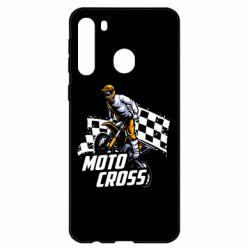 Чехол для Samsung A21 Motocross