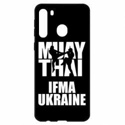 Чехол для Samsung A21 Muay Thai IFMA Ukraine