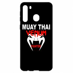Чехол для Samsung A21 Muay Thai Venum Fighter