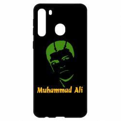Чехол для Samsung A21 Muhammad Ali
