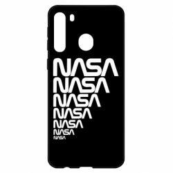 Чехол для Samsung A21 NASA