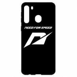 Чехол для Samsung A21 Need For Speed Logo