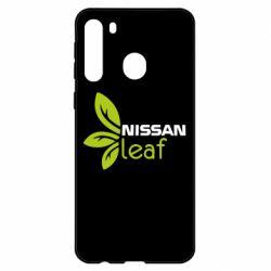 Чехол для Samsung A21 Nissa Leaf