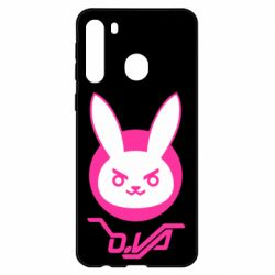 Чехол для Samsung A21 Overwatch dva rabbit