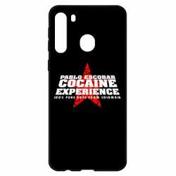Чехол для Samsung A21 Pablo Escobar