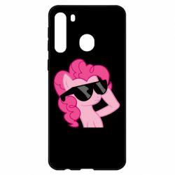 Чехол для Samsung A21 Pinkie Pie Cool