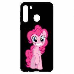 Чехол для Samsung A21 Pinkie Pie smile