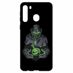 Чехол для Samsung A21 Plague Doctor
