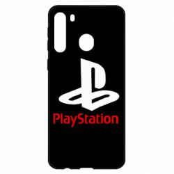 Чехол для Samsung A21 PlayStation