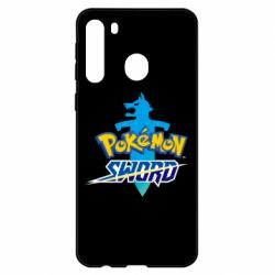 Чехол для Samsung A21 Pokemon sword