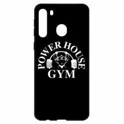 Чехол для Samsung A21 Power House Gym