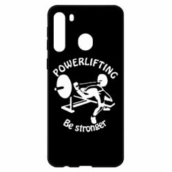 Чехол для Samsung A21 Powerlifting be Stronger