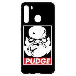 Чехол для Samsung A21 Pudge Obey