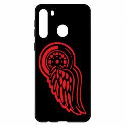 Чехол для Samsung A21 Red Wings